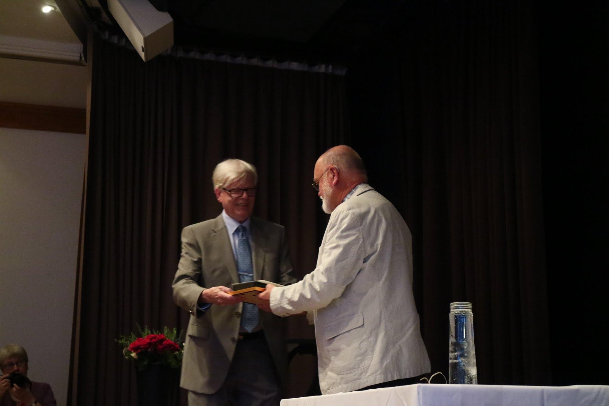 Björn Johansson får priset Årets eldsjäl